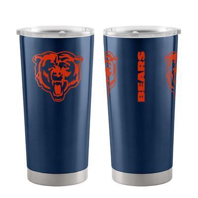 Chicago Bears 20oz Ultra Travel Tumbler [NEW] NFL Cup Mug Coffee - Chicago Bears Nfl Tumbler