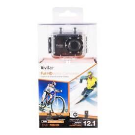 Vivitar Full HD action camera, blue