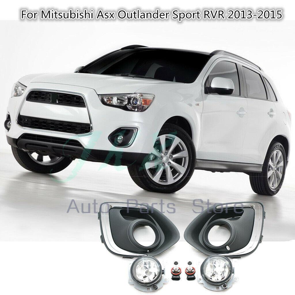 RH Side Bumper Bezel Fog Light Cover Bezel o For Mitsubishi Outlander 2013-2015