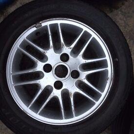 17 Inch alloy wheels Ford