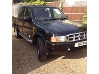 FORD RANGER XLT 4X4 PICK UP DOUBLE CAB 2.5 DIESEL 2002