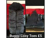 Black Cosy Toes