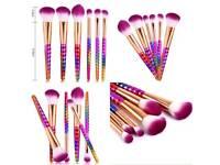 Unicorn makeup brushes sets 😍
