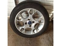 FORD ALLOY WHEEL and TYRE