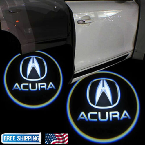 For Acura Tlx Rlx Mdx Tl Zdx Led Laser Door Logo Ghost