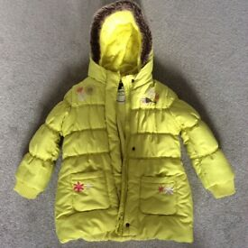 M&S aged 4-5yrs padded coat