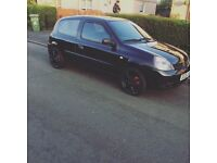 1.1 Renault Clio / swap for small van