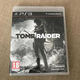 Tomb Raider PS3 game - Excellent condition