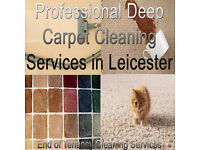 Professional Deep Carpet Cleaning & End of Tenancy Cleaning Services in Leicester