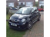 Abarth 500 auto/manual Black 2015