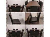 Walnut dining table excellent condition never used £200 no timewasters pls