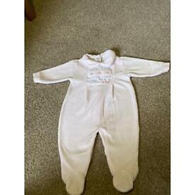 Coco Girls Babygrow - 0/3 months