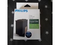 Philips Faxjet 500 PFA 441 series Ink-Cartridge- Brand New x 1-6