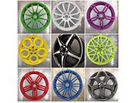 Wheel Refurbishment & repairs (cracks,buckles, air leak) powder coating