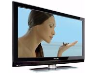 "Philips 47"" inch HD TV Screen Flat LCD Television, Freeview built in, 2 x HDMI not 40 42 43 46 48"