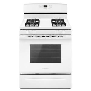Amana® AGR6603SFW 30-Inch Gas Range With Self-Clean Option (BD-1624)