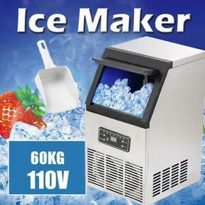 130 lb Auto Commercial Ice Cube Machine