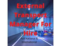Transport Manager HGV for immediate hire