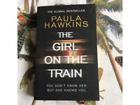 The girl on the train Paperback Book