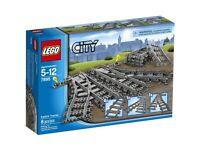 Lego 7895 City switching tracks