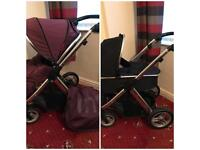 Oyster Pram and Carry Cot