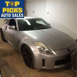 2006 Nissan 350Z 6 SPEED, LEATHER, WHEELS, SPOILER AND MORE!