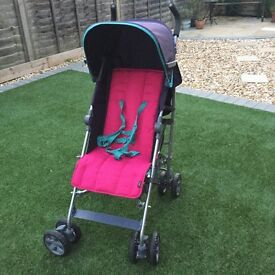 New Mamas and Papas stroller.