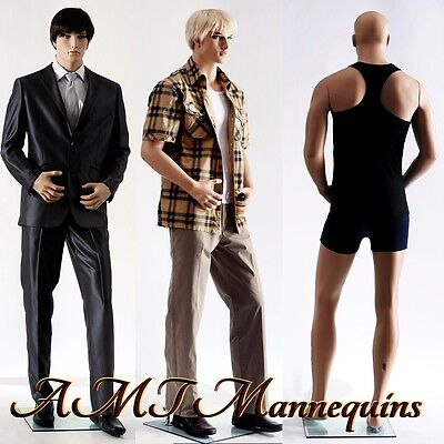 Male Mannequin Display Hand Made Fiber Glass Manikin Mannequin - Big Zac