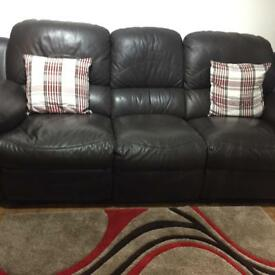 Two and three seater sofas immaculately looked after asking price £270 or nearest offer