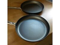 Two 30cm Frying Pans in Very Good Condition