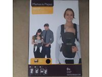 Mamas and Papas Morph Baby Carrier Black