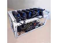 Bitcoin, Ethereum and other Cyptocurrency GPU mining rigs for sale