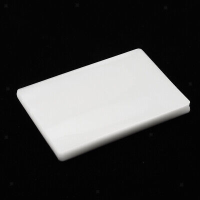 50 Pieces Glossy Clear Laminating Pouches Film Sheet Pet Eva 100 Micron 3