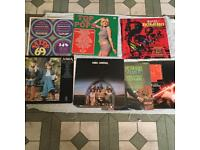 Music collection vinyl and cassettes from 60's 70's 80's 90's