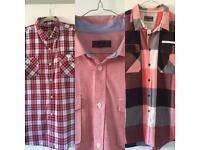 X3 Men's Summer Short Sleeved Shirts Size 2XL Red, Black,White, Navy New & Nearly New Condition