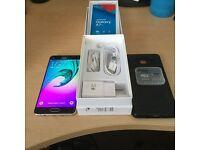 """Unlocked New Gold Samsung Galaxy A7 2016 4G 5.5"""" HD 16GB & 64GB MicroSD 13MP & Case"""