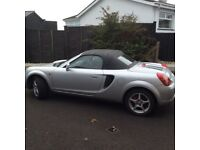 2003 Toyota MR2 roadster full year mot. Red leather seats, immaculate condition. Hard top available.