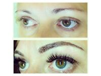 Dreams eyes- microblading eyebrow tattoo, spray tan, individual/Russian volume eyelash extensions