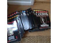 'Murder Casebook' magazine series editions 1-53