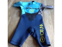 Kids wetsuits x 2