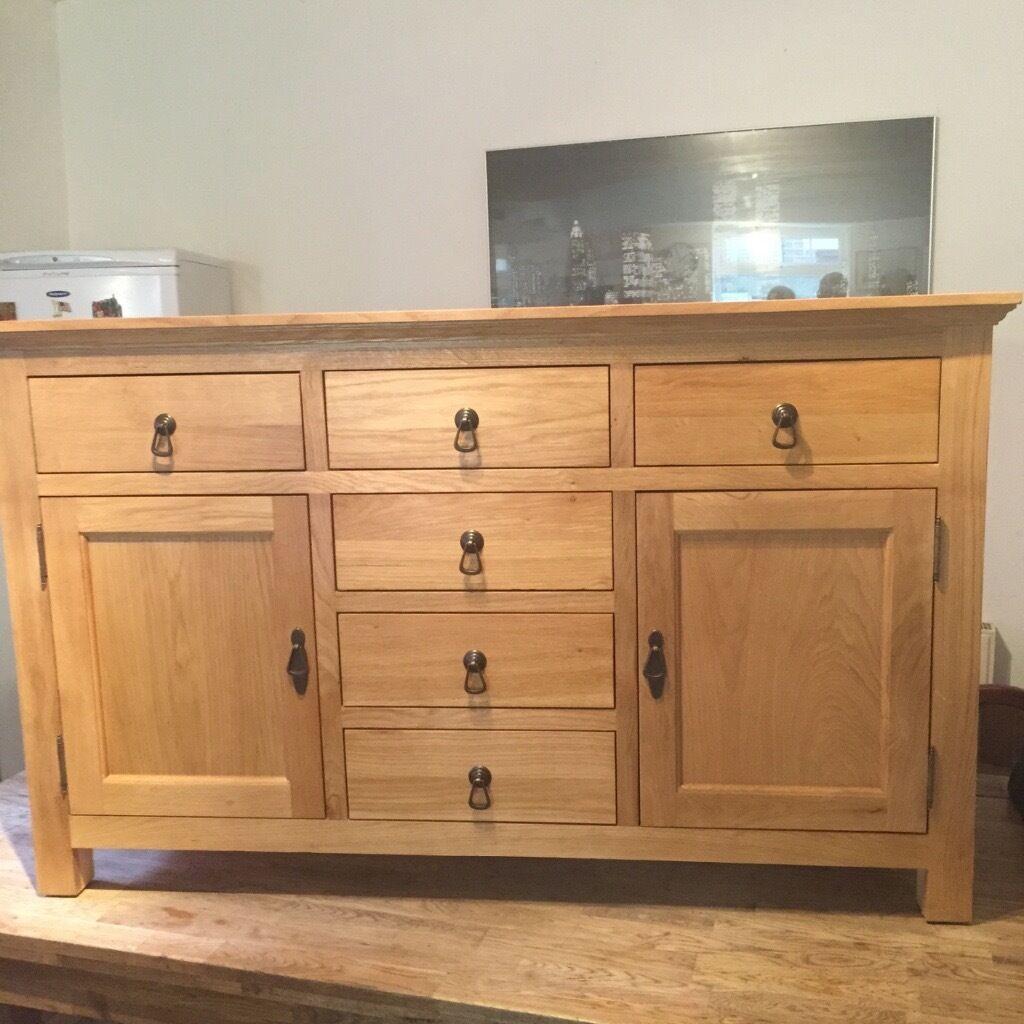 Brand New Knightsbridge Oak Sideboard Still For Sale in  : 86 from www.gumtree.com size 1024 x 1024 jpeg 118kB