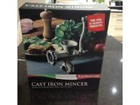 New Kitchen craft Italian Collection cast iron mincer