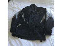 Motorbike jacket -Spada armoured goretex material