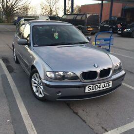 Bmw 316se 2004 one owner service history metallic grey very nice car with m Tec alloys styling
