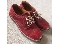 Women's Fly London Jane Red Leather 8