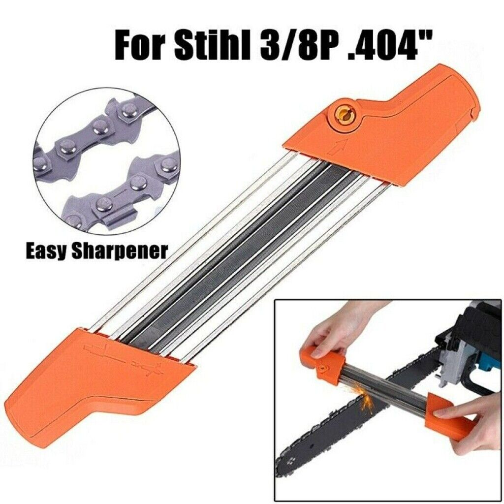 2 IN 1 EASY FILE CHAINSAW CHAIN SHARPENING TOOL FOR STIHL 4M