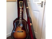 Gibson electro accoustic SJ45 kris kristoffersen first class condition with hard Gibson case