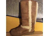 UGG Australia Junior Sunsparkle Chestnut Snow Boot 5274 BNIB Size 13UK