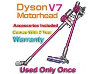 Dyson V7 Motorhead Cordless Vacuum Cleaner - Brand New (receipt & Dyson 2-year unopened warranty)