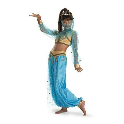 Mystical Genie Child Costume Size Large 10-12 - Genie Child Costume